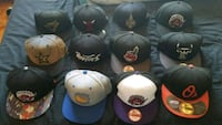 Fitted and snapback hats Brampton, L6R 1P2