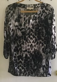 Jones of NY top size small leopard print St. Augustine, 32084