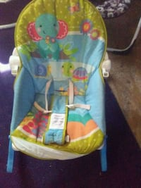 baby's blue and green bouncer Gray, 70359