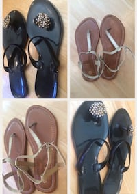 2 women Sandals, size 6 - 6 1/2 both for $10 San Diego, 92107