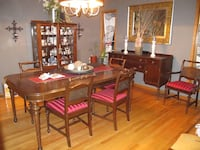 Antique Dinning Room table + 6 Chairs Surrey, V4N 5P2