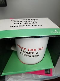 Brand new coffee cup. Cute quote.
