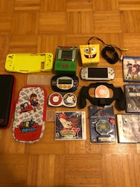 Handheld video game bundle