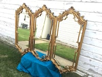 Vintage Antique mirror. Large French Style Gilt Wood. Chicago, 60646