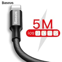 Baseus Fast Data Charging Charger Cable For iPhone Brampton, L6V 3E2
