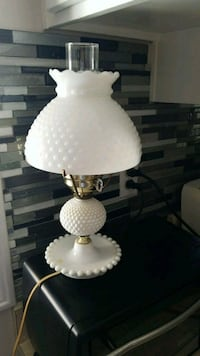 white and gray table lamp Kitchener