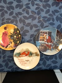 Christmas Decorative Plates -3 for $15 Vaughan, L6A 0C4