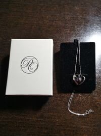 PearlsOnly 9-10mm AA Quality Freshwater 925 Sterling Silver Necklace C Mississauga