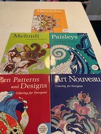 New colouring books 5 for $25 ($65 value) Calgary, T3M 1Z6