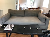 Interior Define Gray Single Bench Couch Falls Church, 22042