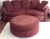Need it gone Asap! Oversized couch & ottoman  Markham, L3P 6X4