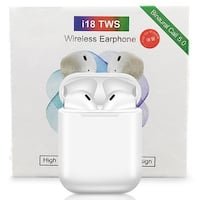 i18 TWS wireless bluetooth touch sensor earphones Mic - SEALED New Surrey, V3X 1Y3