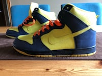 Nike Air Dunk High Simpsons - Size 10.5 Toronto, M6N 3Y7