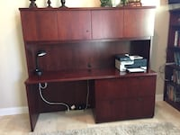 Office Credenza and book shelf $80 Katy, 77494