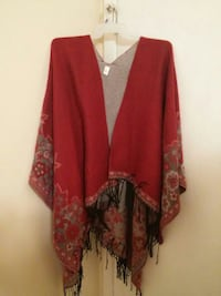 Cato's one size fits all shawl