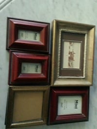 5  minature picture frames   Los Angeles County, 91311