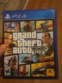Grand Theft Auto Five PS4 game case Snellville, 30039