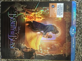 Beauty and the beast Blu-ray and DVD