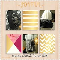 """Guess""  Black Purse.    Brand New!! Redcliff, T0J 2P0"