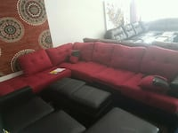 Red sectional free delivery  Falls Church, 22041