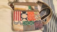 white, pink, and green Coach leather crossbody bag Las Vegas, 89128