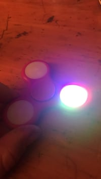 Red LED Fidge Spinner