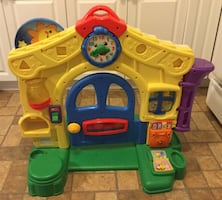 """'Fisher Price' LEARNING TOY HOUSE (30"""" tall) with"""
