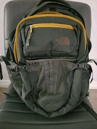 black and green The North Face backpack Los Angeles, 90032