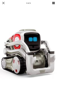Super Cozmo White, black, and red  Robot. Awesomeness