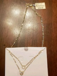 Brand new 10k gold heart chain  San Antonio, 78233