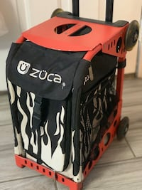 Zuca backpack with wheels