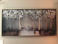 brown and gray abstract painting Kissimmee, 34741