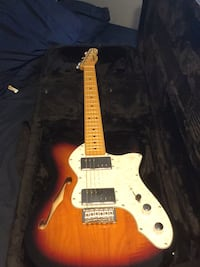 Guitar fender squar telecaster thinline need it tho fast Ellicott City, 21043