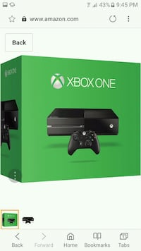 Xbox One console with controller box Canastota, 13032