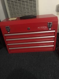 red and gray tool chest Los Angeles, 90033