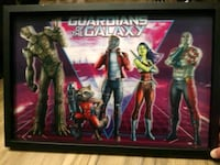 Guardians of the Galaxy Holographic and Canvas Pic Destin, 32541