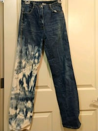 Vintage upcycled tie-dyed jeans Albany, 97321