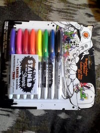 Sharpie Stained Fabric Markers 8 pk. New