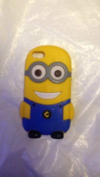 Blue and yellow minion iphone case Toronto