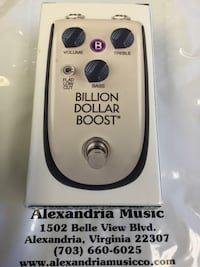 Danelectro Billion Dollar Boost Pedal Alexandria, 22307