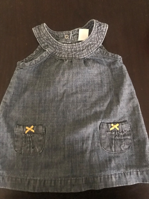 824c2604f Used Blue jean baby dress size 6 months for sale in New York - letgo