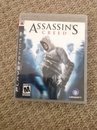 Assassin's Creed PS3 game case