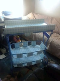 Baby changing table /2 large baskets East Los Angeles, 90022