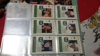 nine football trading cards Montreal, H3T 1E3