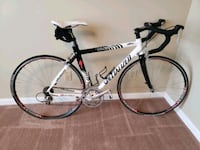 white and black Specialized Allez road bike Fayetteville, 28314