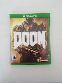 Doom Xbox One game case 863 mi