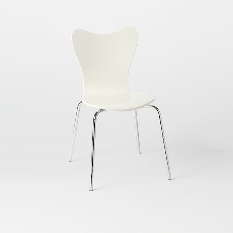 White Chair Very Comfortable