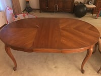 Dining room table, chairs, and buffet Seven Hills, 44131