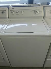 6 MONTH WARRANTY TOP LOAD WASHER