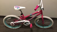 Toddler's pink and white bicycle Arlington, 22206